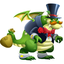 An image of the Rockfeller Dragon