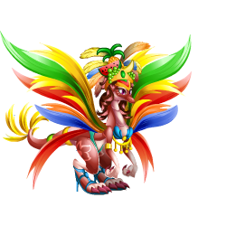 An image of the Samba Dragon