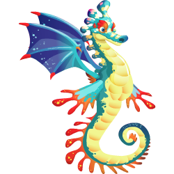 An image of the Seahorse Dragon