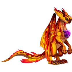 An image of the Secret Fire Dragon