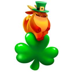 An image of the Shamrock Rider Dragon
