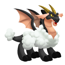 An image of the Sheep Dragon