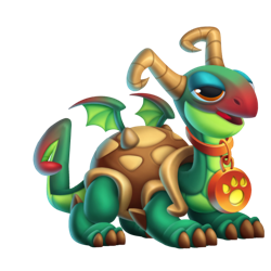 An image of the Shelly Dragon