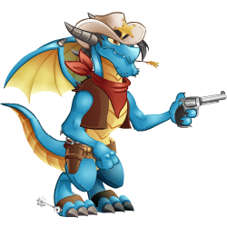 An image of the Sheriff Dragon