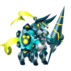 An image of the Space Knight Dragon