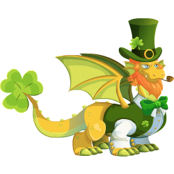 An image of the St Patricks Dragon