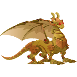 An image of the Steampunk Dragon