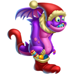An image of the Stocking Dragon
