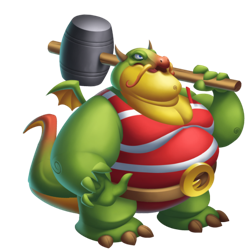 An image of the Strongman Dragon