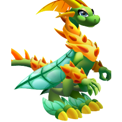 An image of the Super Nature Dragon