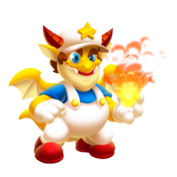 An image of the Super Plumber Dragon