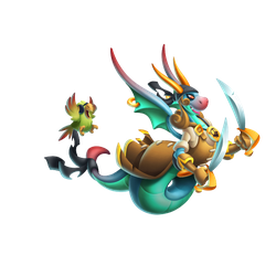 An image of the Swashbuckler Dragon