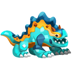 An image of the Third Birthday Dragon