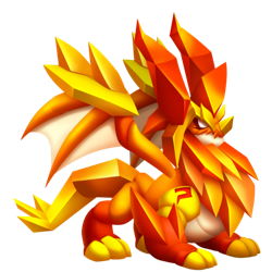 An image of the Topaz Dragon