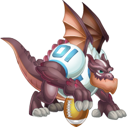 An image of the Touchdown Dragon