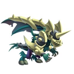 An image of the Wailing Dragon