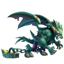 An image of the Werewolf Dragon