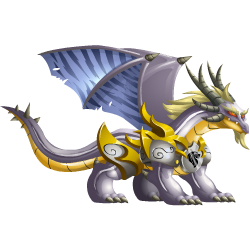 An image of the White Knight Dragon