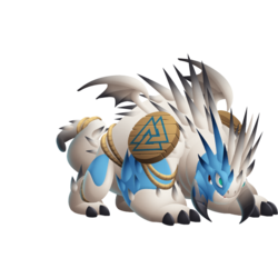 An image of the Wilderbeast Dragon