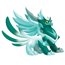 An image of the Winter Phoenix Dragon