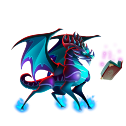 An image of the Wisdom Dragon