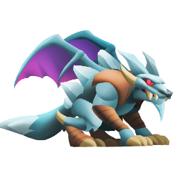 An image of the Wolfreeze Dragon