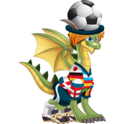 An image of the World Cup Dragon