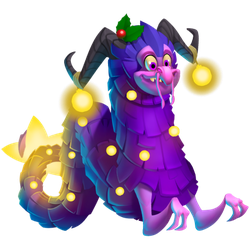 An image of the Wreath Dragon