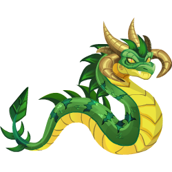 An image of the Wurm Dragon