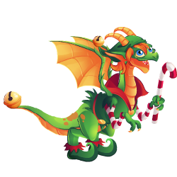 An image of the Xmas Elf Dragon
