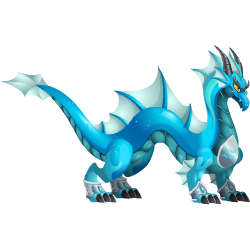 An image of the Zodiac Aquarius Dragon