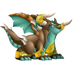 An image of the Zodiac Taurus Dragon
