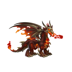 An image of the Zombie Flame Dragon