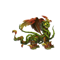 An image of the Zombie Nature Dragon