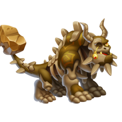 An image of the Zombie Terra Dragon