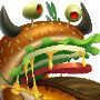 The Burger Dragon in Dragon City