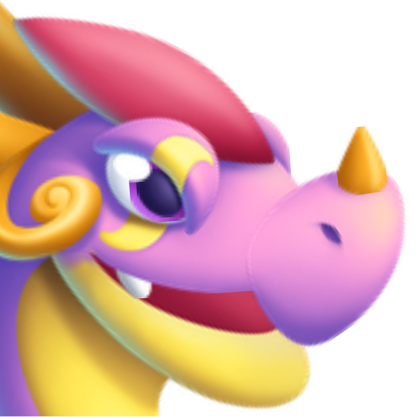 An image of a Candy Heart Dragon