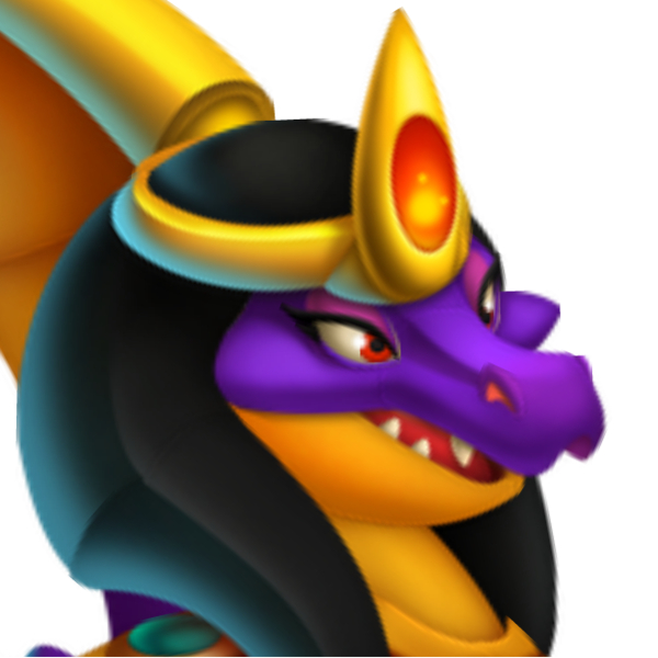 The Cleopatra Dragon in Dragon City