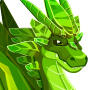 An image of a Emerald Dragon