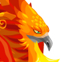 The firebird Dragon adult from Levels 7 to 30