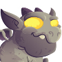 The Gargoyle Dragon child from Levels 1 to 3