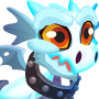 The Ghost Dragon child from Levels 1 to 3