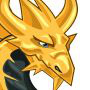 The gold Dragon adult from Levels 7 to 30