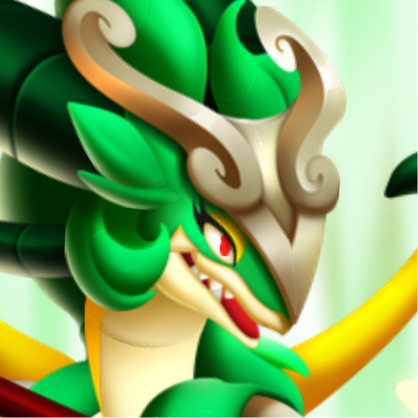 The High Virago Dragon in Dragon City