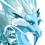The ice Dragon adult from Levels 7 to 30
