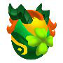 The Macha Dragon eggs in Dragon City