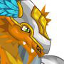 The Paladin Dragon in Dragon City
