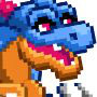 The Pixel Dragon in Dragon City