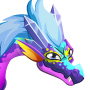 The prisma Dragon adult from Levels 7 to 30