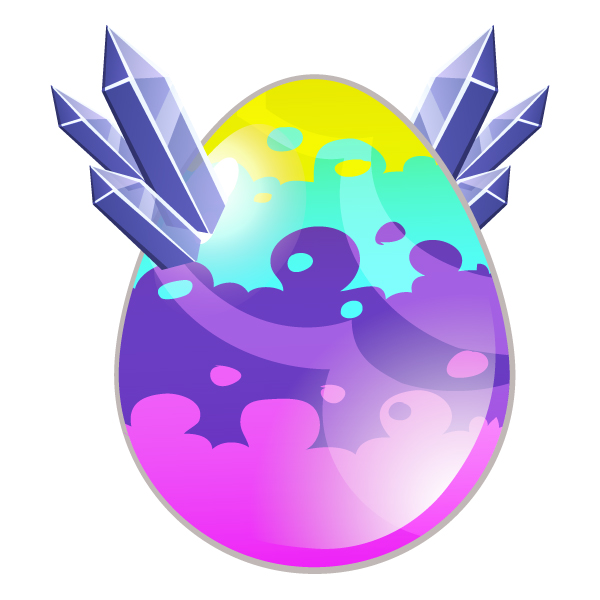 The Prisma Dragon eggs in Dragon City